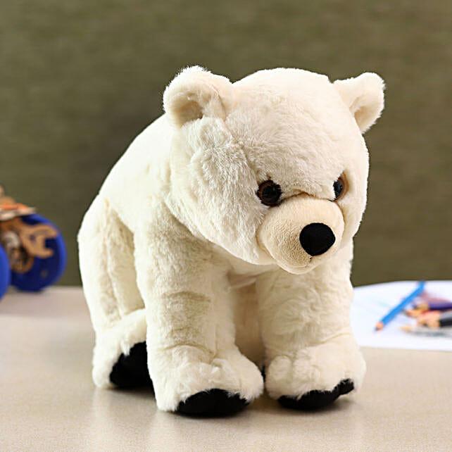 Wild Republic White Polar Bear Soft Toy