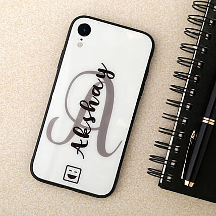Personalised Iphone XR Plastic Mobile Cover