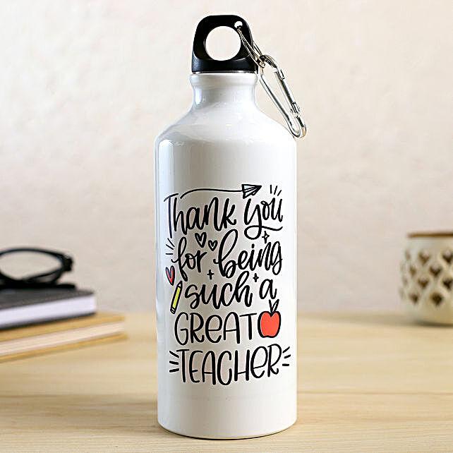 Happy Teachers Day Bottle
