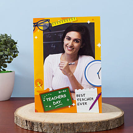Teachers Day Personalised Greeting Card
