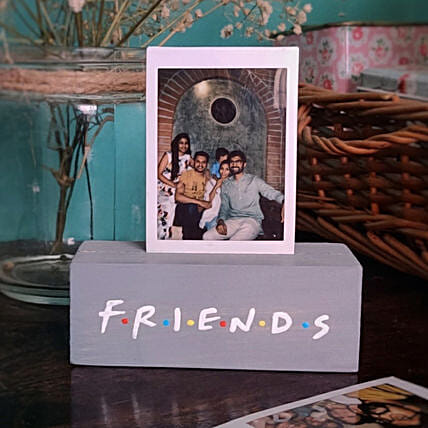 Friends Theme Personalised Photo Holder Frame