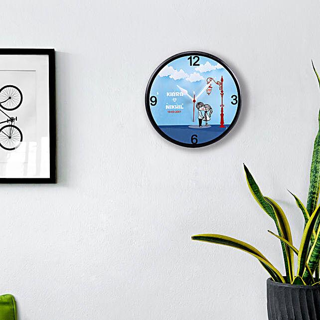 Personalised Eternal Love Wall Clock