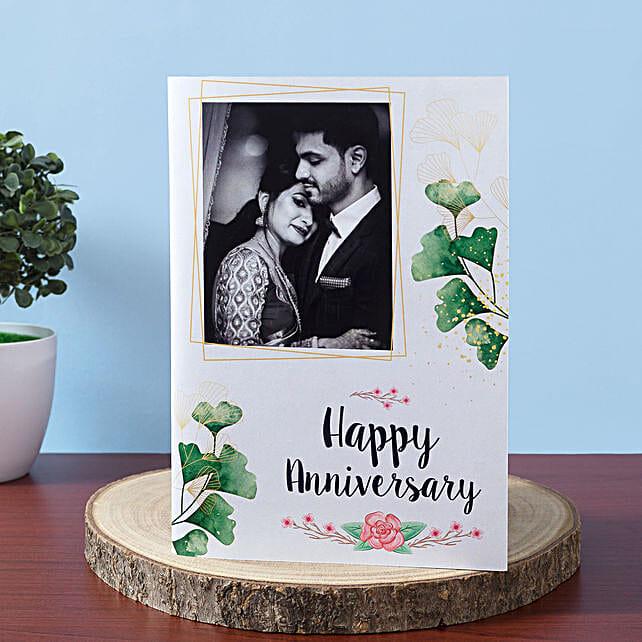 Personalised Anniversary Greeting Card:Send Personalised Greeting Cards