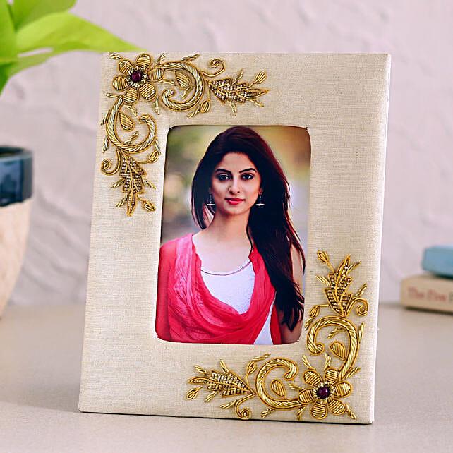 Personalised Cream Photo Frame