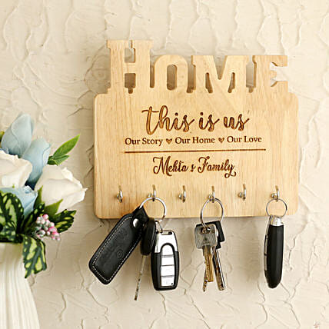 Personalised Home Key Holder