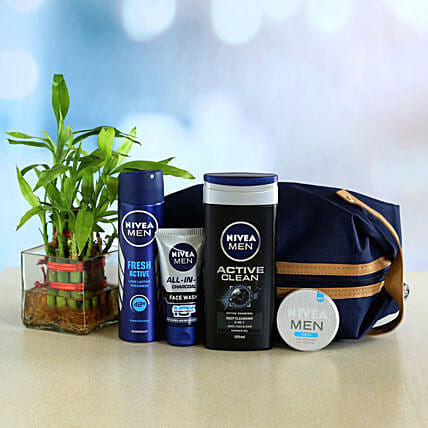 Nivea Men Grooming Combo and Money Plant