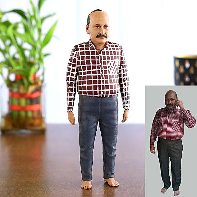 Customised 3d miniature single