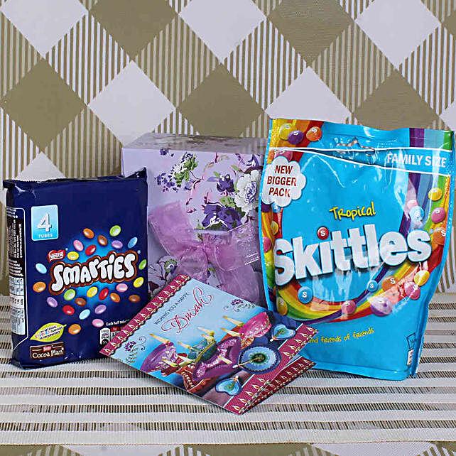 Skittles & Smarties Diwali Wishes Combo
