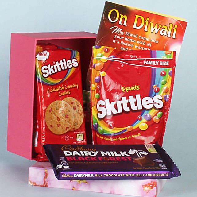 Skittles Cookies & Chocolates Diwali Special Hamper