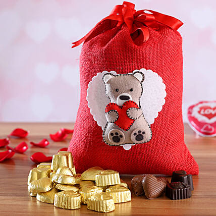 assorted chocolate for teddy day