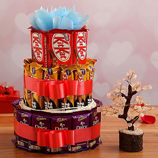 Valentine's Day Chocolates & Wish Tree Combo