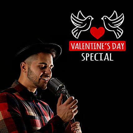 Valentines Day Songs By Male Singer On Video Call:Valentine Gifts
