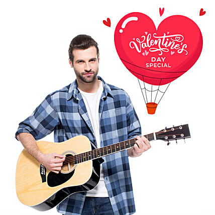 Valentines Day Special Guitarist On Video Call:Guitarist On call