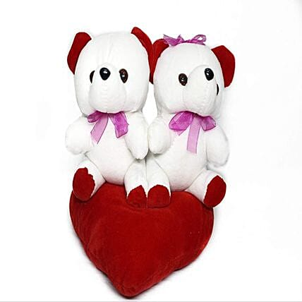 Online White Couple Teddy