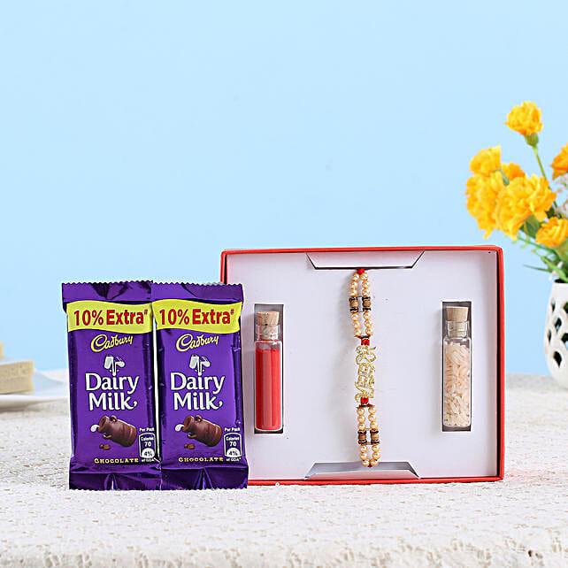 sweet chocolate with rakhi online