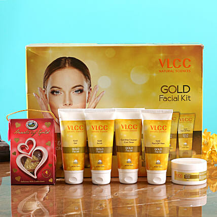 VLCC Gold Kit And Choco Swiss Hearts