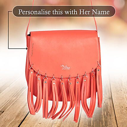 Red Tassels Bag Online