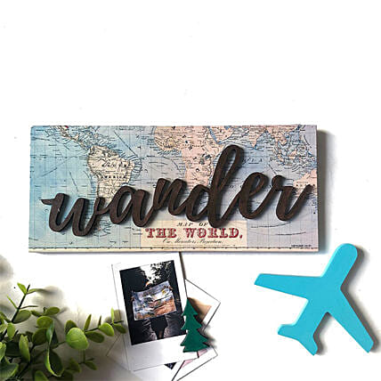 Beautiful Wander Wall Sign