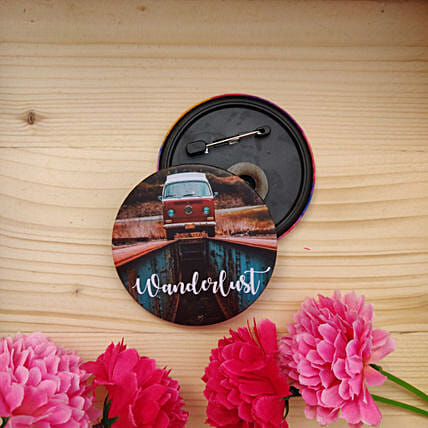 Wanderlust Badge