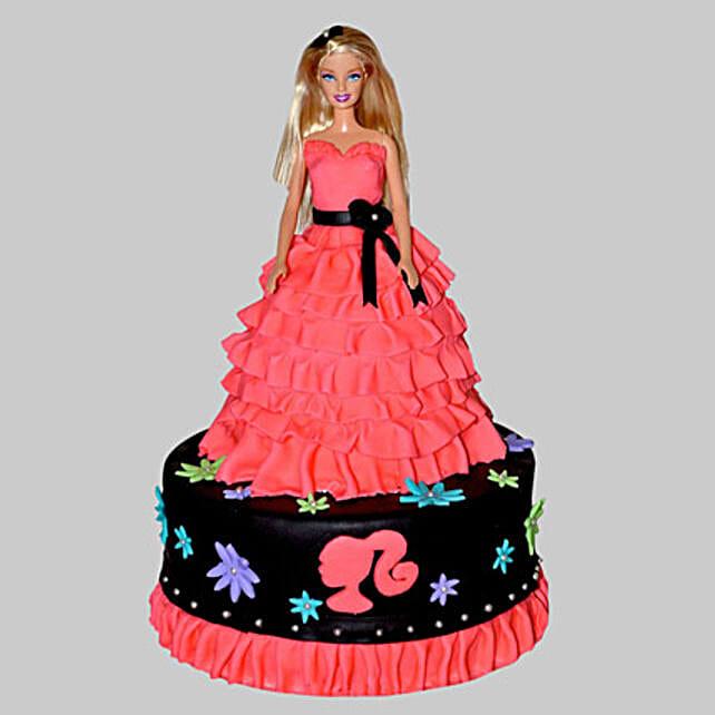 Little Barbie Birthday Cake 2kg