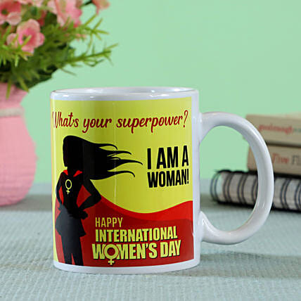 whats your super power printed mug online