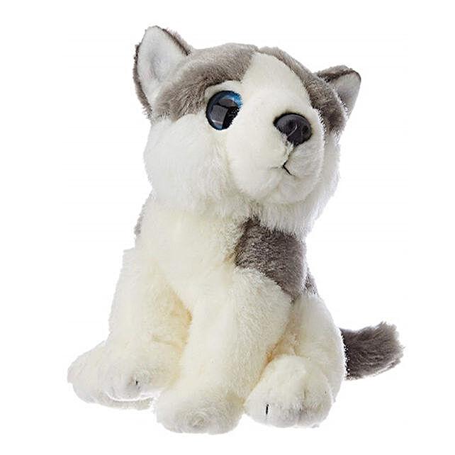 Wild Republic Plush White Watcher Husk Soft Toy