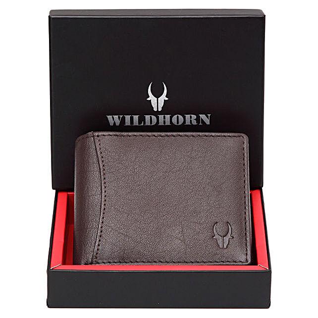 Wildhorn Classy Wallet Brown