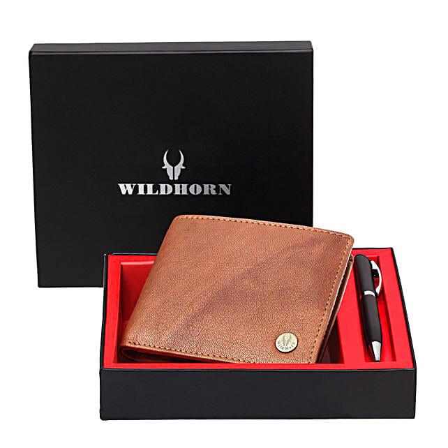 Wildhorn Leather Mens Wallet Combo Tan