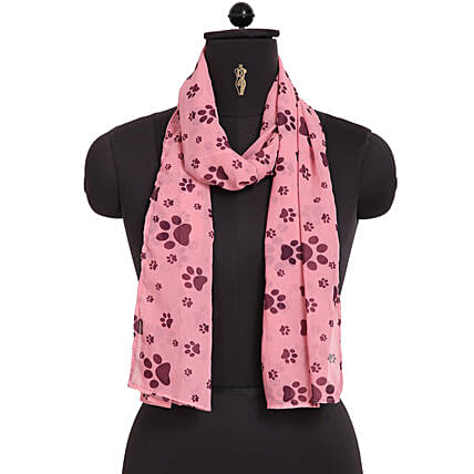 Online Paw Woman Scarf