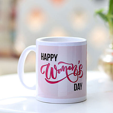 Happy Women's Day Mug Online