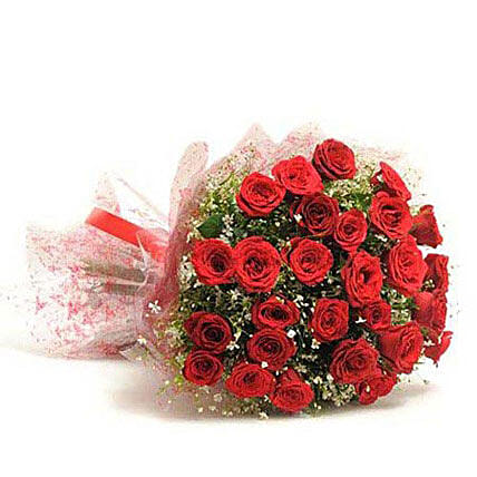 Bouquet of red roses:Send Flowers to Nizamabad