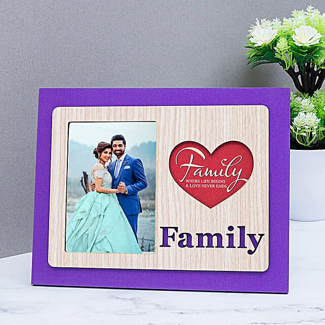 family table top photo frame:Wedding Photo Frames