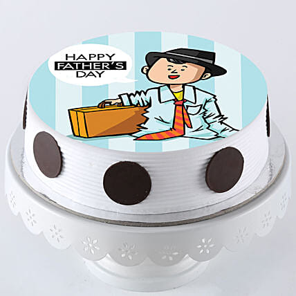 Happy Fathers Day Cake Online