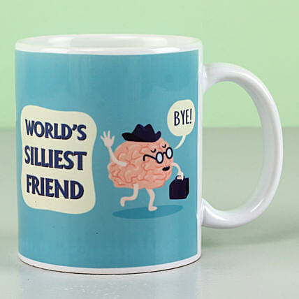 funny printed mug for friendship day