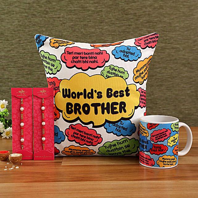 Rakhi Hamper for Brother Online