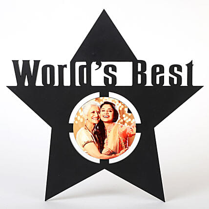 Star Shape Photo Frame for Mother