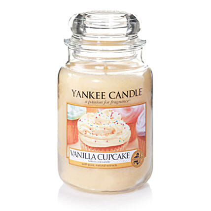 Online Vanilla Cupcake Scented Candles