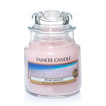 Send  Pink Sands Scented Candles:Buy Christmas Candles