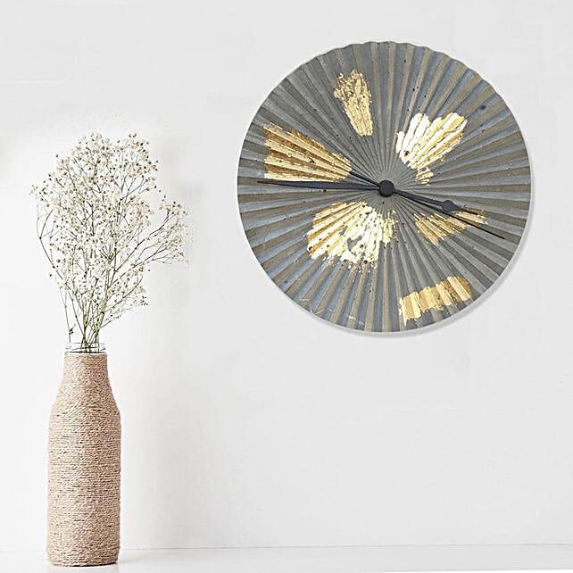 Online Painted Grey Clock