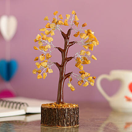 online yellow quartz wish tree for home decor