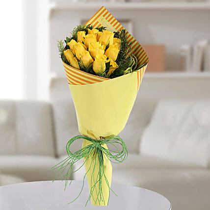 Bouquets of Yellow Roses