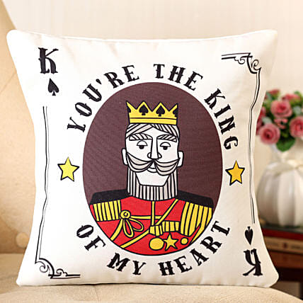 personalised cushion for him:Cushions