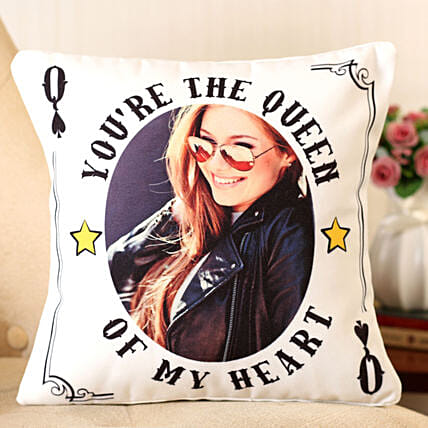 printed cushion for her