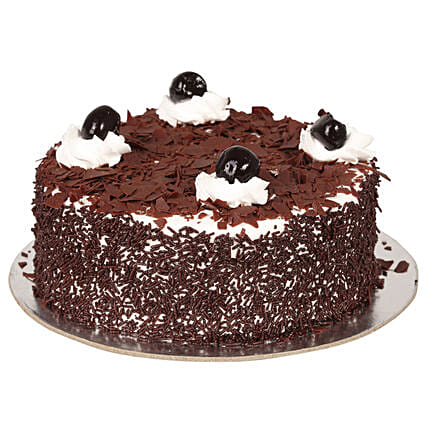 Yummy Black Forest Treat Cake
