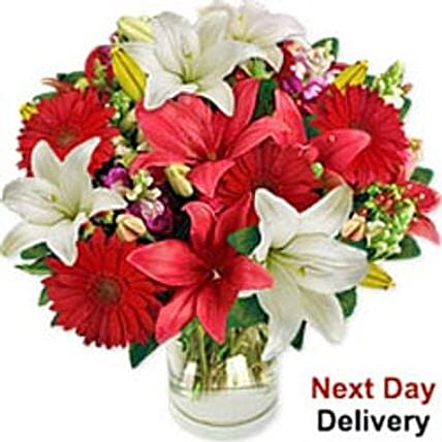 Festive Lilies-mac