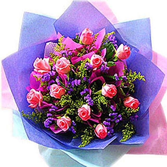 An Exotic Rose Arrangement