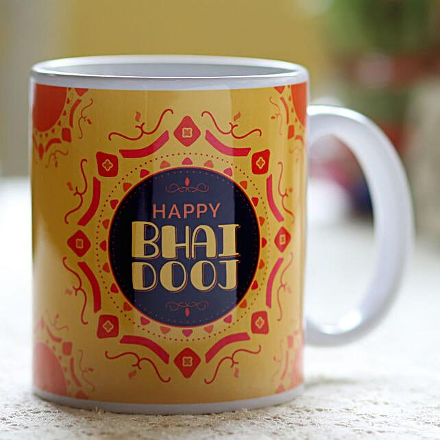 Online Printed Mug For Brother:Bhai Dooj Gifts to Malaysia