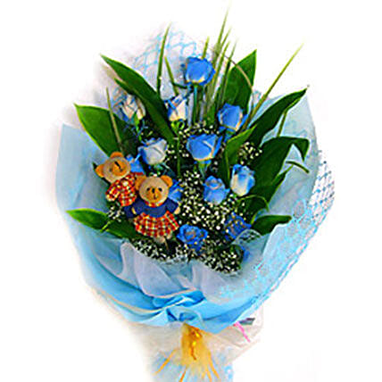 Blue Charming Bouquet