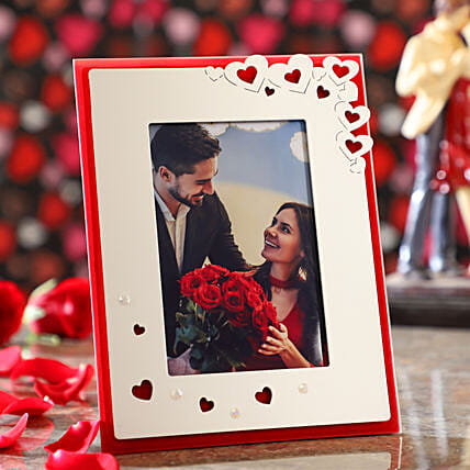 Hearty Personalised Photo Frame