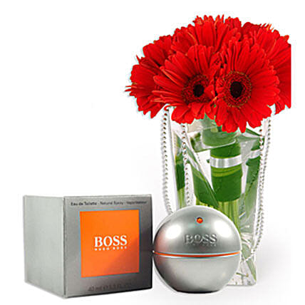 Hugo Boss With Flowers